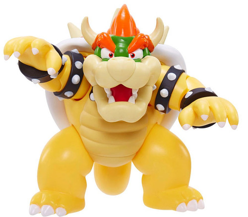 World of Nintendo Super Mario Bowser Deluxe Action Figure
