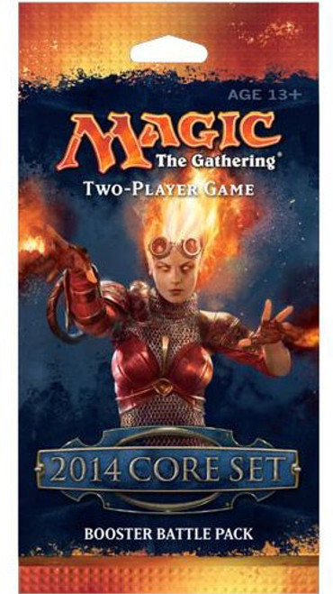 MtG Trading Card Game 2014 Core Set Booster Battle Pack