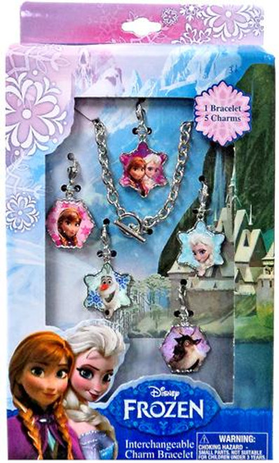 Disney Frozen Interchangeable Charm Bracelet
