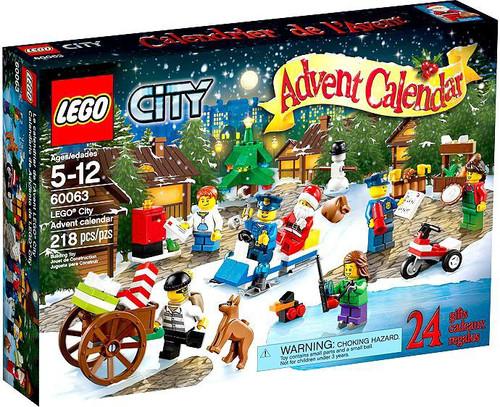 LEGO City 2014 Advent Calendar Set #60063