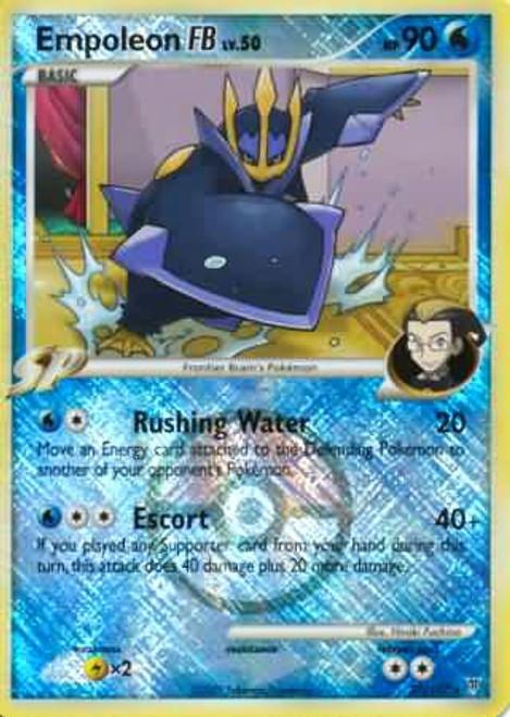 Trading Card Game Pokemon League Promo Rare Holo Empoleon FB #27