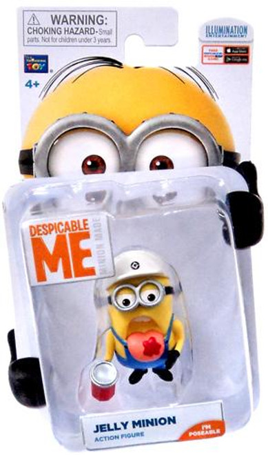 Despicable Me Minion Made Jelly Minion Action Figure