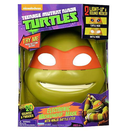 Teenage Mutant Ninja Turtles Nickelodeon Michelangelo Electronic Mask [Ninja Battle Eyes]
