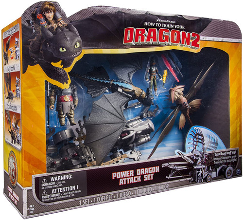 How to Train Your Dragon 2 Power Dragon Attack Set