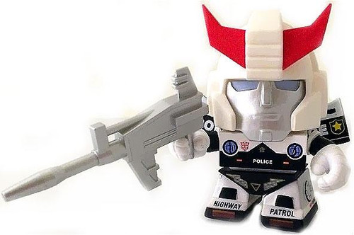 "Transformers Series 2 Prowl 3-Inch 3"" Vinyl Figure [Loose]"