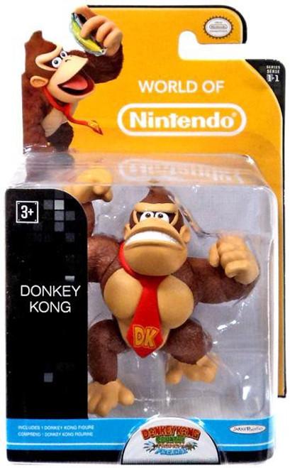 World of Nintendo Donkey Kong Country Tropical Freeze Donkey Kong 2.5-Inch Mini Figure