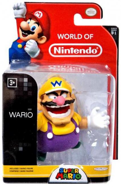 World of Nintendo Super Mario Wario 2.5-Inch Mini Figure