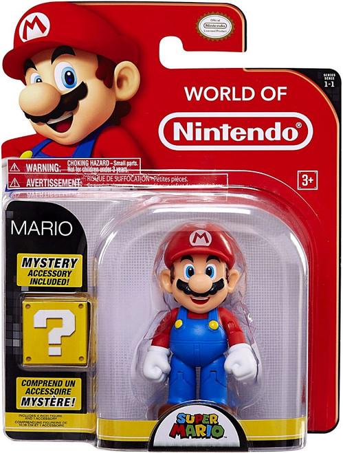 World of Nintendo Super Mario Series 1 Mario Action Figure