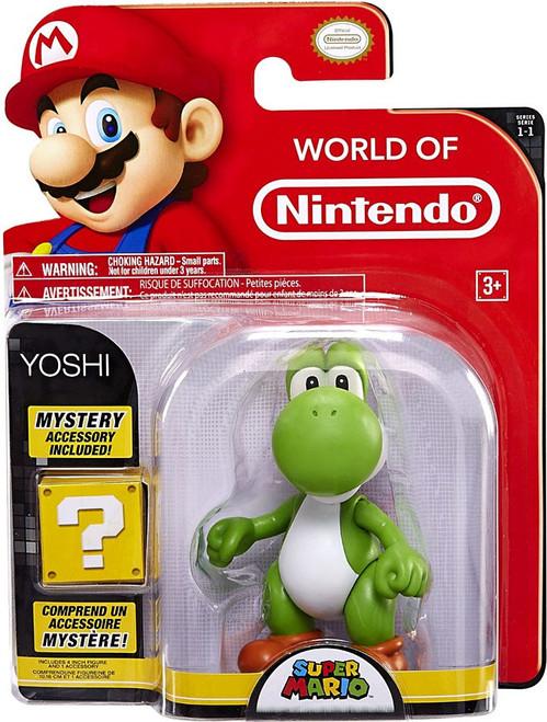 World of Nintendo Super Mario Series 1 Yoshi Action Figure