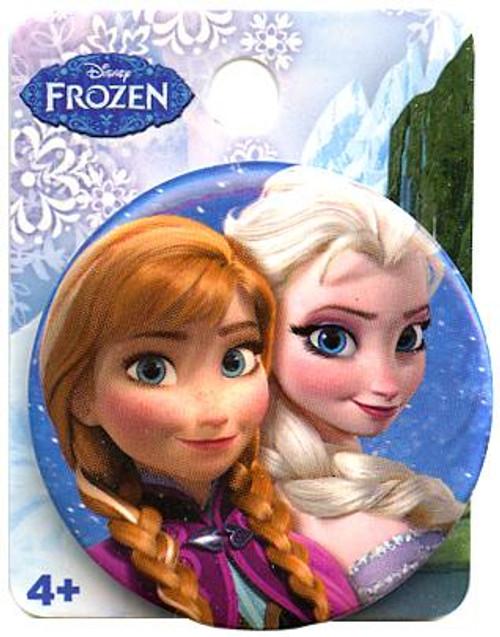 Disney Frozen Anna & Elsa 1.5-Inch Button
