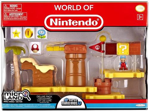 World of Nintendo Super Mario Bros. U Micro Land Layer Cake Desert Deluxe Playset
