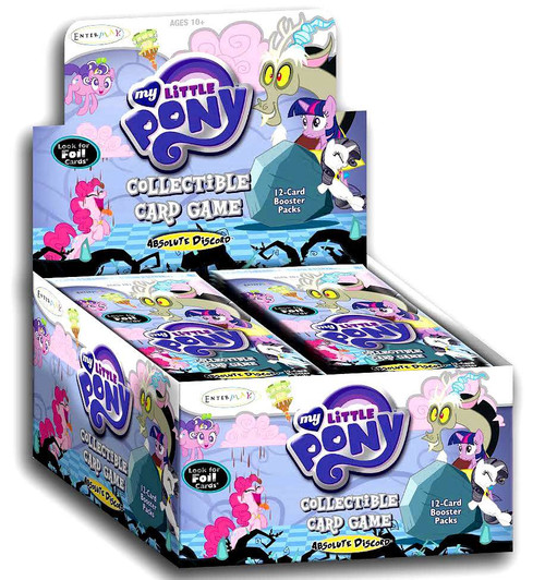 My Little Pony Friendship is Magic Absolute Discord Booster Box [36 Packs]