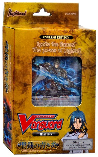 Cardfight Vanguard Trading Card Game Divine Judgment of the Bluish Flames Trial Deck VGE-TD16