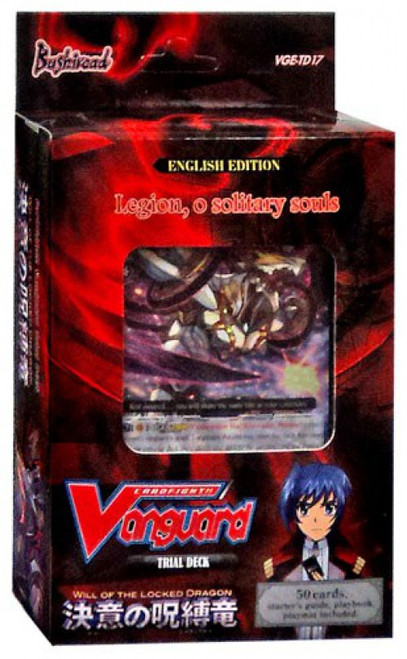 Cardfight Vanguard Trading Card Game Will of the Locked Dragon Trial Deck VGE-TD17