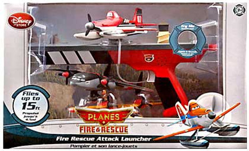 Disney Planes Fire & Rescue Fire Rescue Attack Launcher Exclusive Playset [White Box]