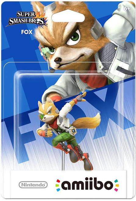 Nintendo Super Smash Bros Amiibo Fox Mini Figure