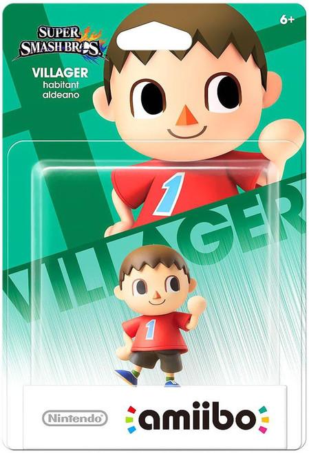 Nintendo Super Smash Bros Amiibo Villager Mini Figure