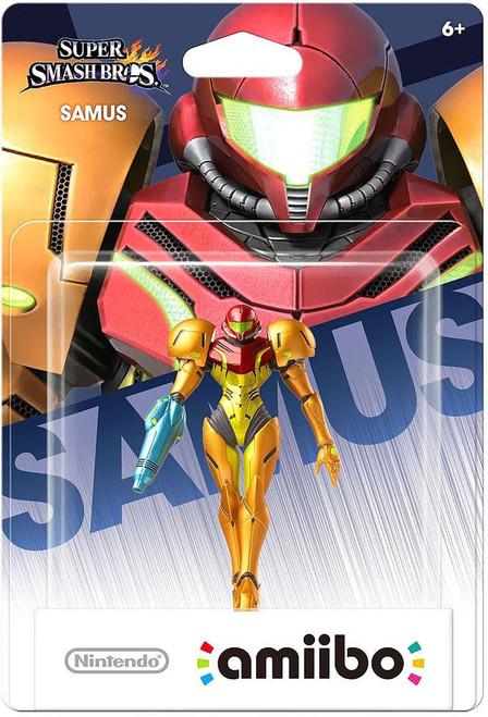 Nintendo Super Smash Bros Amiibo Samus Mini Figure