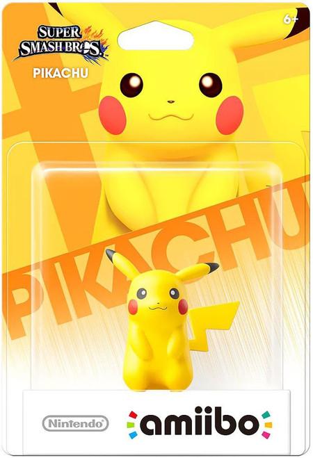 Nintendo Super Smash Bros Amiibo Pikachu Mini Figure