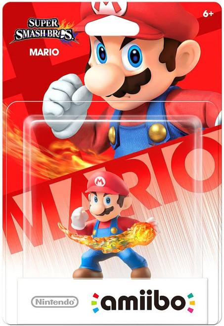 Nintendo Super Smash Bros Amiibo Mario Mini Figure