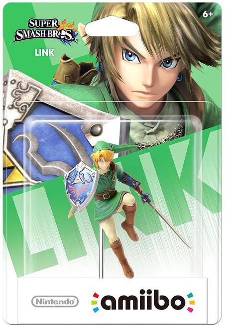 Nintendo Super Smash Bros Amiibo Link Mini Figure