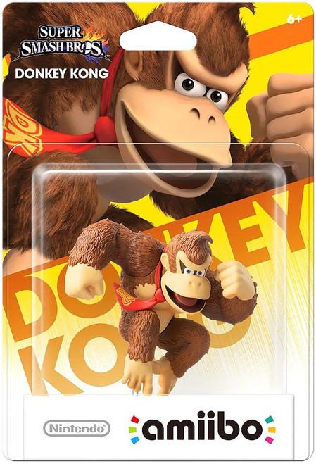 Nintendo Super Smash Bros Amiibo Donkey Kong Mini Figure