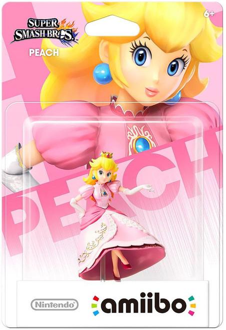 Nintendo Super Smash Bros Amiibo Peach Mini Figure