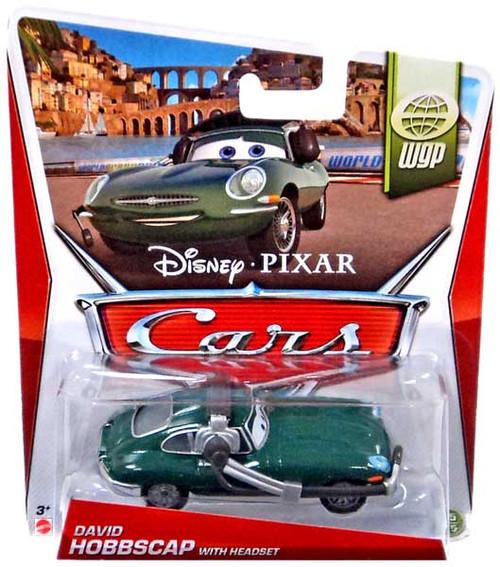 Disney / Pixar Cars Mainline David Hobbscap With Headset Diecast Car #15/15