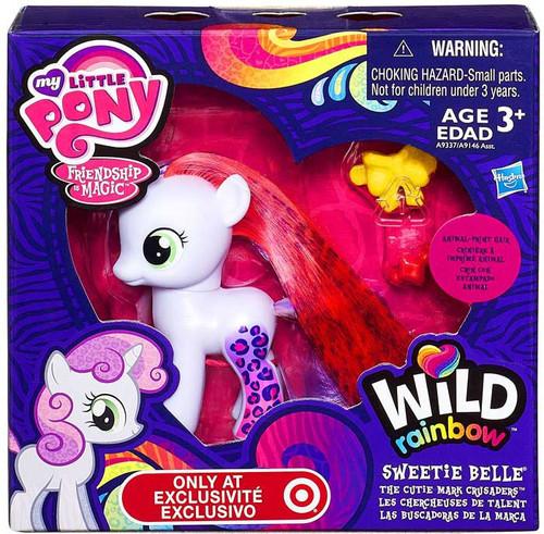 My Little Pony Equestria Girls Wild Rainbow Sweetie Belle Exclusive Figure