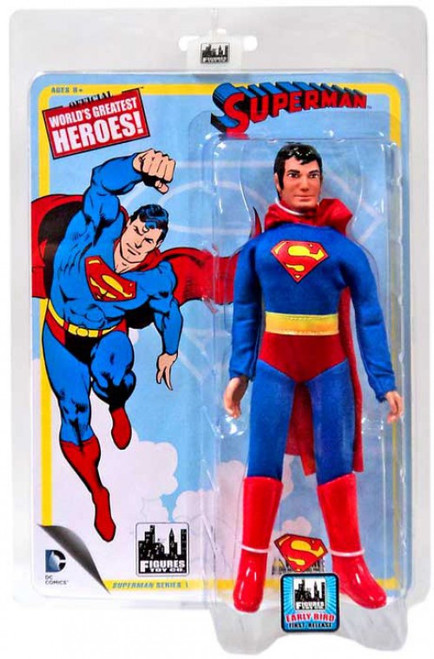 DC Retro Series 1 Superman Retro Action Figure [Early Bird First Release]