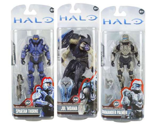 McFarlane Toys Halo 4 Series 3 Set of 3 Action Figures Action Figures