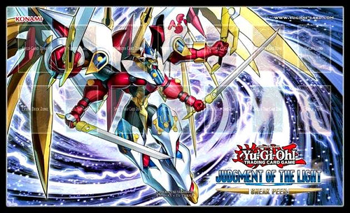 YuGiOh Judgment of the Light Play Mat