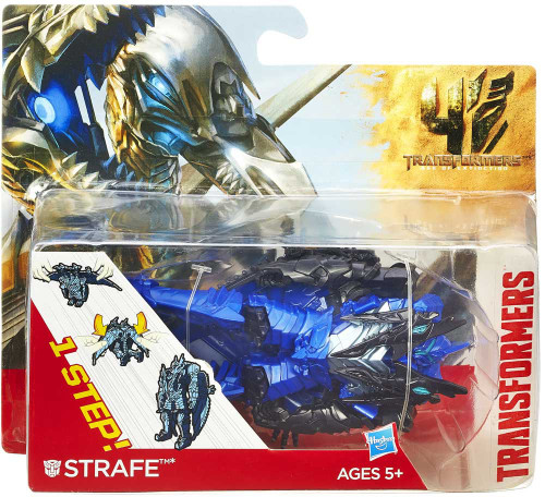 Transformers Age of Extinction 1 Step Changer Strafe Action Figure