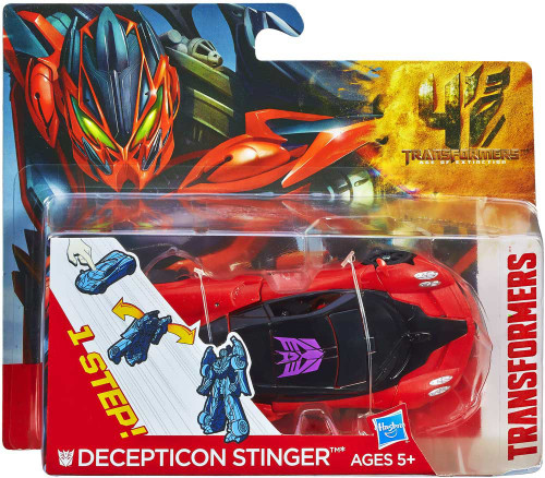 Transformers Age of Extinction 1 Step Changer Decepticon Stinger Action Figure