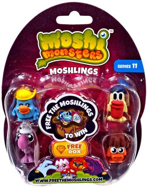 Moshi Monsters Free the Moshlings Series 11 Mini Figure 5-Pack