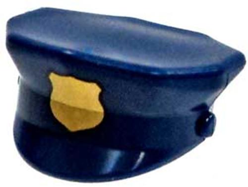 Dark Blue Police Cap Minifigure Accessory [Loose]
