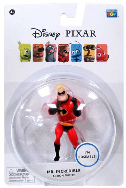 "Disney / Pixar Incredibles Mr. Incredible Action Figure [3.75""]"