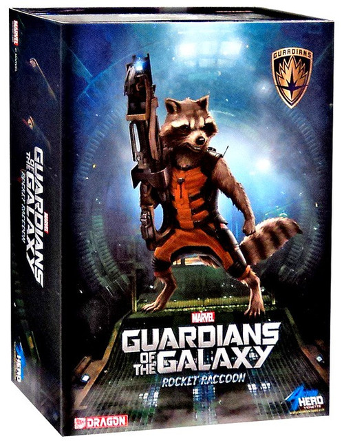 Marvel Guardians of the Galaxy Rocket Raccoon Model