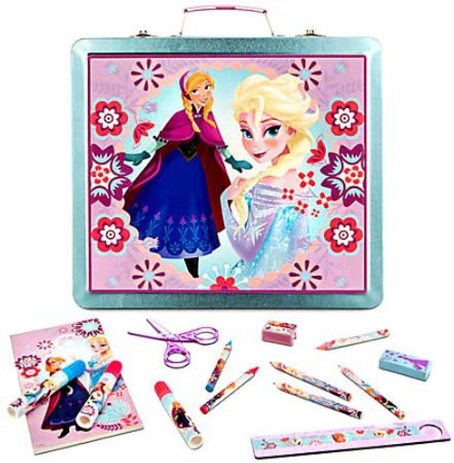 Disney Frozen Tin Art Case Exclusive Activity Set