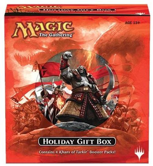 MtG Trading Card Game Khans of Tarkir Holiday Gift Box
