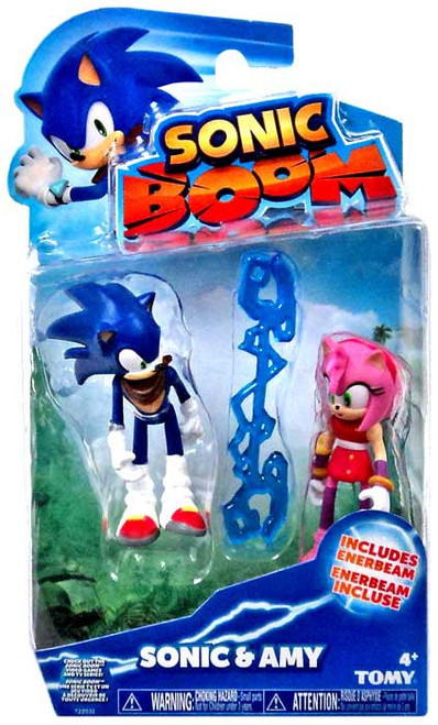 Sonic The Hedgehog Sonic Boom Sonic & Amy Action Figure 2-Pack