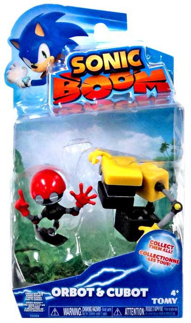 Sonic The Hedgehog Sonic Boom Orbot & Cubot Action Figure 2-Pack