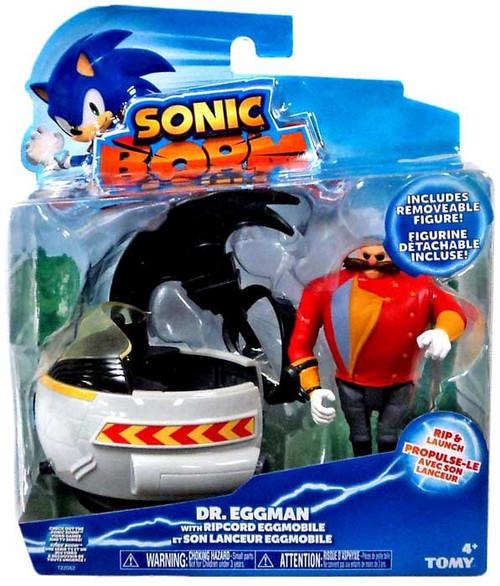 Sonic The Hedgehog Sonic Boom Ripcord Launcher Eggman Action Figure [Ripcord Eggmobile]