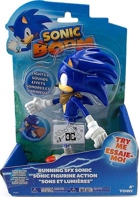 Sonic The Hedgehog Sonic Boom Running SFX Sonic Action Figure