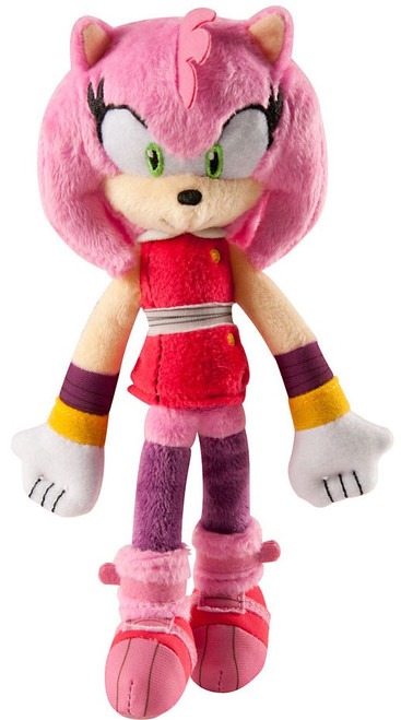 Sonic The Hedgehog Sonic Boom Amy 8-Inch Plush