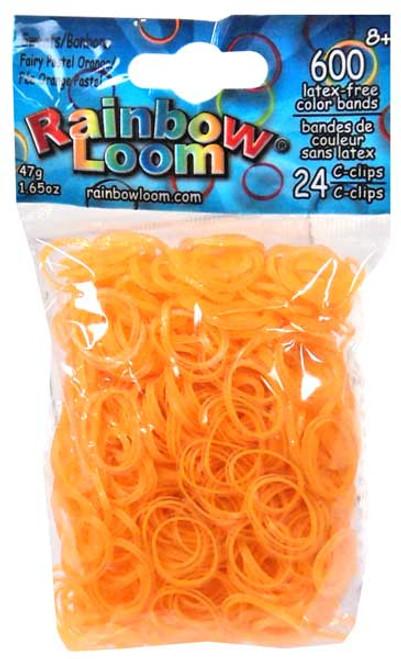 Orange Loom Bands  Discount for quantity