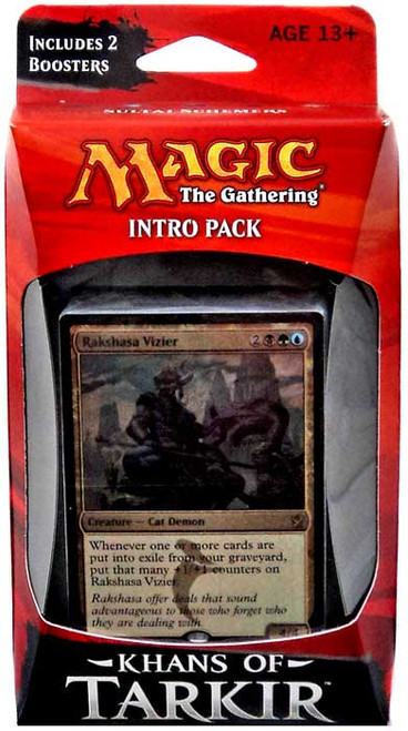 MtG Trading Card Game Khans of Tarkir Sultai Schemers Intro Pack