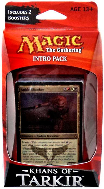 MtG Trading Card Game Khans of Tarkir Mardu Raiders Intro Pack