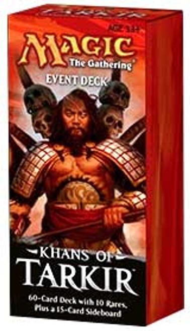 MtG Trading Card Game Khans of Tarkir Conquering Hordes Event Deck