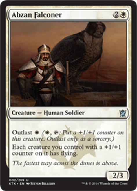 MtG Khans of Tarkir Uncommon Abzan Falconer #2